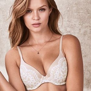 Victoria's Secret Body By Victoria Demi Lace Bra✨